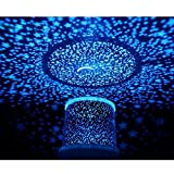 Aeeque LED Star Light Projector Night Light Amazing Blue Lamp Master for Kids Bedroom Home Decoration(with USB Cable)