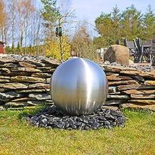 Große Kugel Aus Edelstahl 48cm Durchmesser Für Gartenbrunnen Kugel Matt  Gebürstet Wasserspiel Springbrunnen Kugelbrunnen