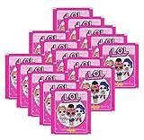 L.O.L. Surprise Panini Collectible Dolls Sammelsticker - 15 Booster Tütchen 75 Sticker