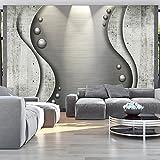 murando - Fototapete Beton 400x280 cm - Vlies Tapete - Moderne Wanddeko - Design Tapete - Wandtapete - Wand Dekoration - Kugeln Abstrakt f-A-0227-a-b
