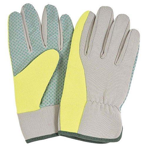 Aqua-garten (Verdemax Aqua Große Garten Handschuh mit PVC Gepunktete Handfläche und elastische Rückseite)