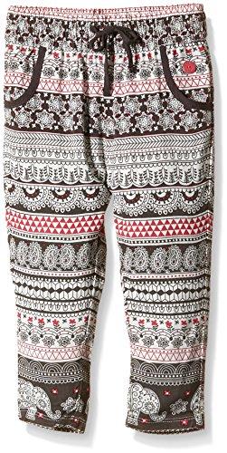 boboli 441098 - Pantalon Viscosa, Color Estampado cenefas Elefantes, Talla 2(92cm)