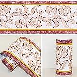 Peel Stick LoveFaye & Bordo per carta da parati, cucina, camera da letto, decorazione da parete, motivo vigneto