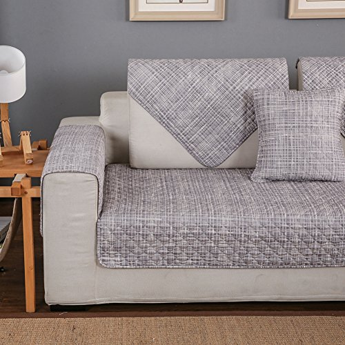 Copridivano per divano in pelle con chaise longue - Copridivano per divano in pelle ...