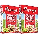 Bagrry's Crunchy Muesli - Almonds, Raisins & Honey - 500 gm (Pack of 2)