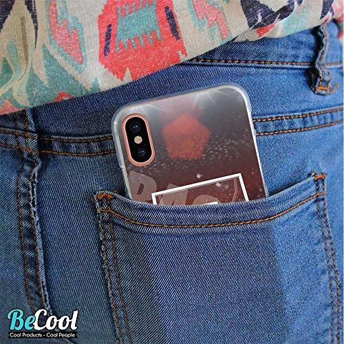 BeCool®- Coque Etui Housse en GEL Flex Silicone TPU Iphone 8, Carcasse TPU fabriquée avec la meilleure Silicone, protège et s'adapte a la perfection a ton Smartphone et avec notre design exclusif. Jou L1409