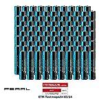 PEARL Super-Alkaline-Batterien: Sparpack Alkaline-Batterien Micro 1,5V Typ AAA, 100 Stück (Batterie für Dauer-Energie)