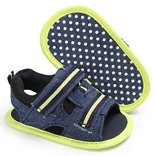 Brightup Mädchen Jungen Weiche Alleinige Krippe Kleinkind Neugeborene Sandelholz Schuhe Grün