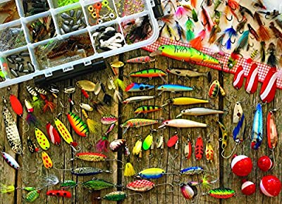 Fishing Lures (Small Box) by Cobble Hill