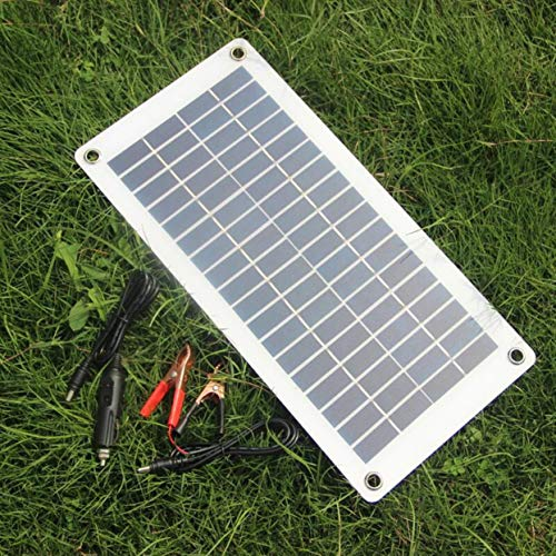 Features:High conversion rate, high efficiency output.With strong frame, aging resistance, corrosion resistance, weak light effect.Flexible Solar Panel, a maximum 30 degree arc bendable.Short circuit and surge protection technology keep you and y...