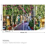 DekoShop Vlies Fototapete Tapete Vliestapete Allee AD1996VEXXXL (416cm x 254cm) Photo Wallpaper Mural
