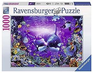 Ravensburger - Puzzles 1000 Piezas, diseño Lassen: Luz en el mar (19478 0)