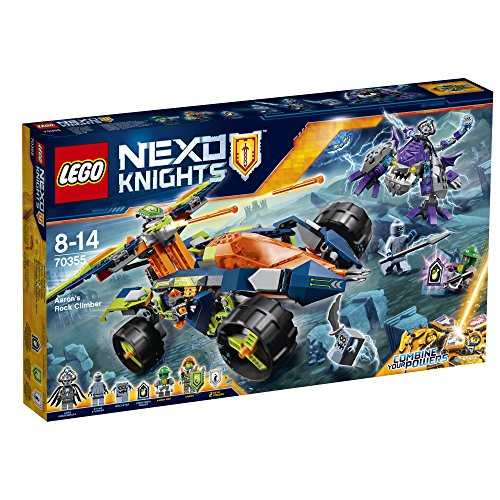 Preisvergleich Produktbild LEGO Nexo Knights 70355 - Aarons Klettermaxe