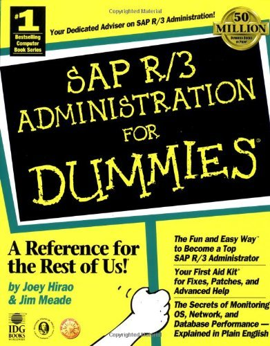 SAP R/3 Administration for Dummies by Joey Hirao (1999-03-30) par Joey Hirao;Jim Meade