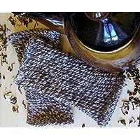 mezzi guanti manicotti fatti a mano con lana peruviana 19b2bbbd9828
