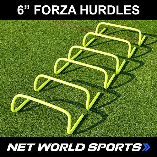 Fußball Hürden, 15 cm, 6 Stück [Net World Sports]