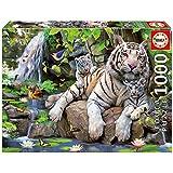 Educa Borrás 14808 - 1000 Tigres Blancos De Bengala