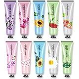 Set Regalo Crema Mani, 10 Pezzi Crema Nutriente Per La Cura Delle Mani, Regalo Da Viaggio Crema Mini Formato Idratante Per Ma
