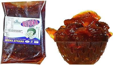 Heena Gruh Udhyog (Bijora Pickle) Red Brown Color, 1 KG