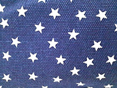 Borsa da Spiaggia Donna Borsa Mare Grande Taille + GRATIS Portamonete, Stella Vari Colore blu stella bianca