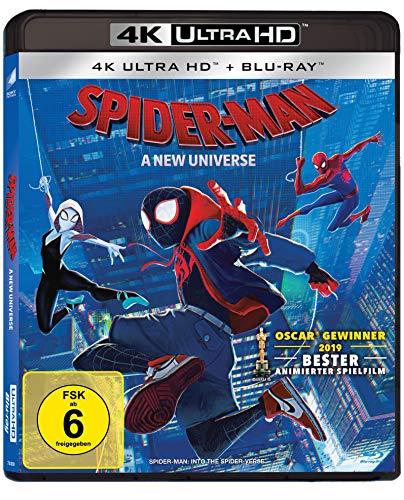 Spider-Man: A new Universe (4K UHD Blu-ray)