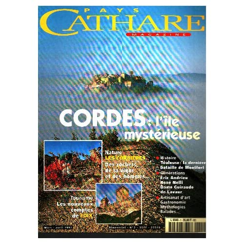 Pays cathare n° 2 / cordes: l'ile mysterieuse