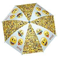 PERLETTI perletti75052 48/8 Printed Emoji Windroof Umbrella, Multi-Color