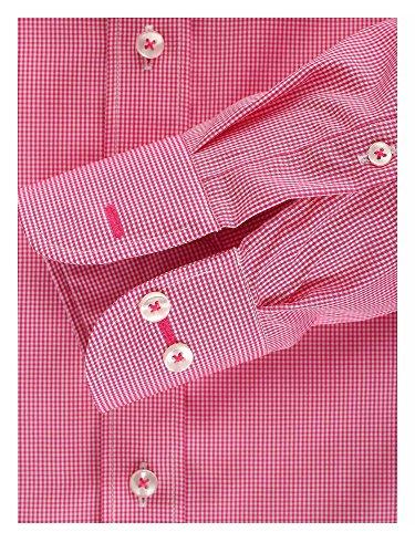 CASAMODA Herren Regular Fit Business Hemd 006760 Pink