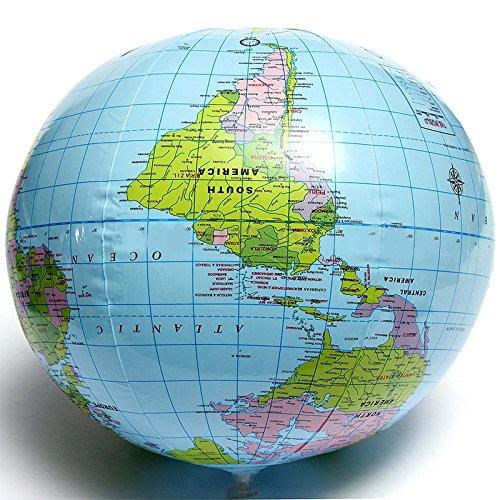 aprettysunny pvc aufblasbare globus englischen serie outdoor - beach - ball