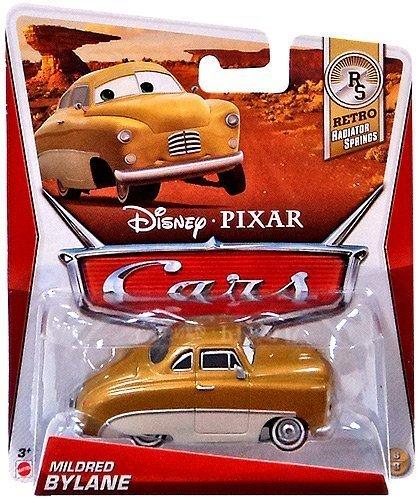 Disney/Pixar Cars Retro Radiator Springs Die-Cast Mildred Bylane #8/8 1:55 Scale by Mattel