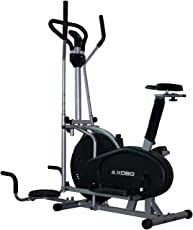 Kobo OB-6 Exercise Bike (Silver/Black)