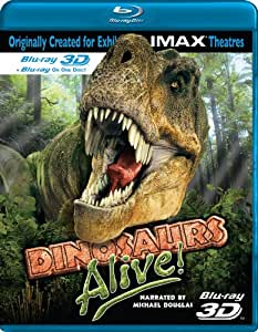 Imax: Dinosaurs Alive 3d [Blu-ray] [Import anglais]