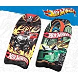 Bodyboard / Body Board / Surfboard / Schwimmbrett Hot Wheels ca. 45 x 90 x 4,5 cm in grün mit Flammen