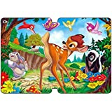 iPad Air 2 Case Cover,[Ultra Slim Folio] Bambi Theme PU Leather Case [Free Screen Protector] DK8951
