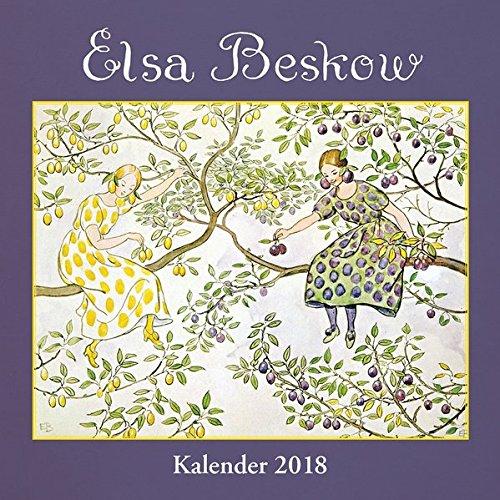 Elsa-Beskow-Kalender 2018: Wandkalender