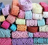 Cotton lace fabric DIY garment fabrics C...