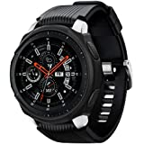 Spigen Samsung Galaxy Watch 46mm Liquid Air cover/case - Black - Compatible with Gear S3 Frontier