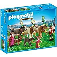 Playmobil Vida en la Montaña - Pastores alpinos con animales (5425)