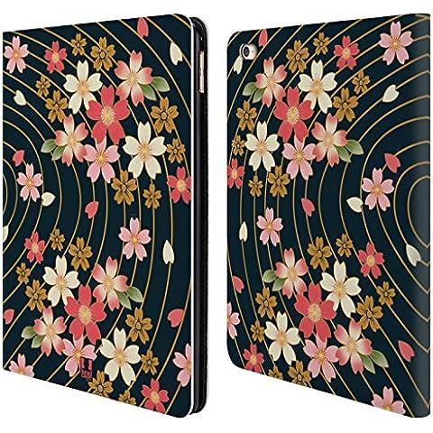 Head Case Ciliegi In Fiore Lacche Cover telefono a portafoglio in pelle per Apple iPad Air 2
