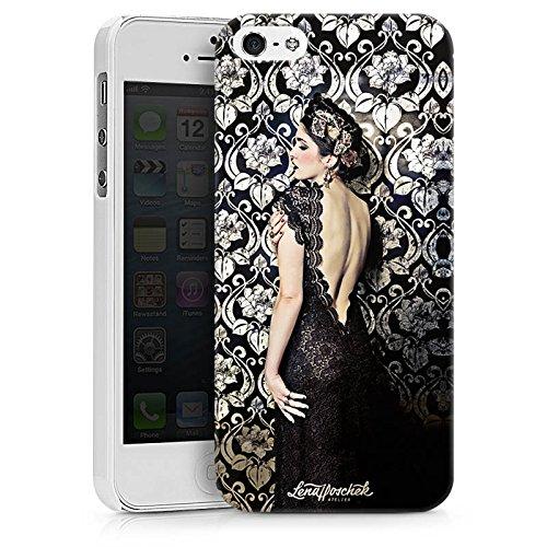 Apple iPhone X Silikon Hülle Case Schutzhülle Anna Karenina Mode Fashion Hard Case weiß