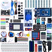 Elegoo Mega 2560 Project The Most Complete Ultimate Starter Kit w/TUTORIAL, MEGA 2560 controller board, LCD1602, Servo, Stepper Motor for Arduino Mega 2560