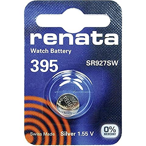 395 (SR927SW) Batterie de Pièces de Monnaie / Oxyde D'argent