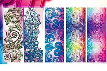 Dicke Rutschfeste Yoga Handtücher, Rutschfest Saugfähig Und Hitzebeständig Doxungo Premium Yogatuch, Yoga Towel Mit Dem Verschiedenen Und Schönen Druck (P) 1