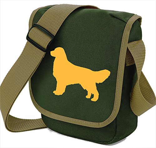 Bag Pixie - Borsa a tracolla unisex adulti Darker Golden on Olive