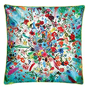 Christian Lacroix - Coussin Calypso Turquoise by Christian Lacroix