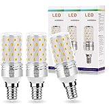 Techgomade Ampoule LED E14 10W, E14 Ampoules de Maïs (80W Équivalent), 850LM, 3000K, Ampoules à E14 Petite Vis Edison pour Pl