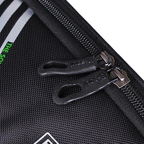 Riiya Bike Package Touch Screen Mountainbike Satteltasche auf dem Paket-Beutel-Handy-Beutel Reitausr¨¹stung 5,7 Zoll Black