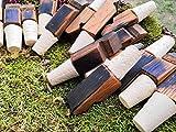 Korkenaufsatz aus altem Single Malt Whiskyfass Daube Whisky Flaschenverschluss