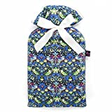 Famous Liberty London Fabric Strawberry Thief Print Padded 2L Hot Water Bottle