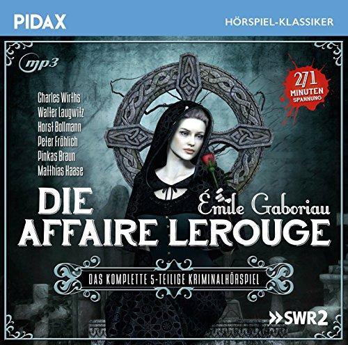 Pidax Hörspiel-Klassiker - Die Affaire Lerouge (Emile Gaboriau) SWR 2001 / Pidax 2016